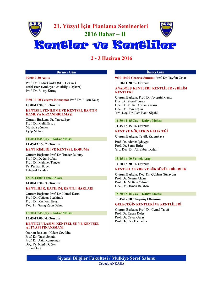 21 YY Planlama Semineri - Kentler ve Kentliler- 2_3 Haziran 2016 -Afiş-enSON copy