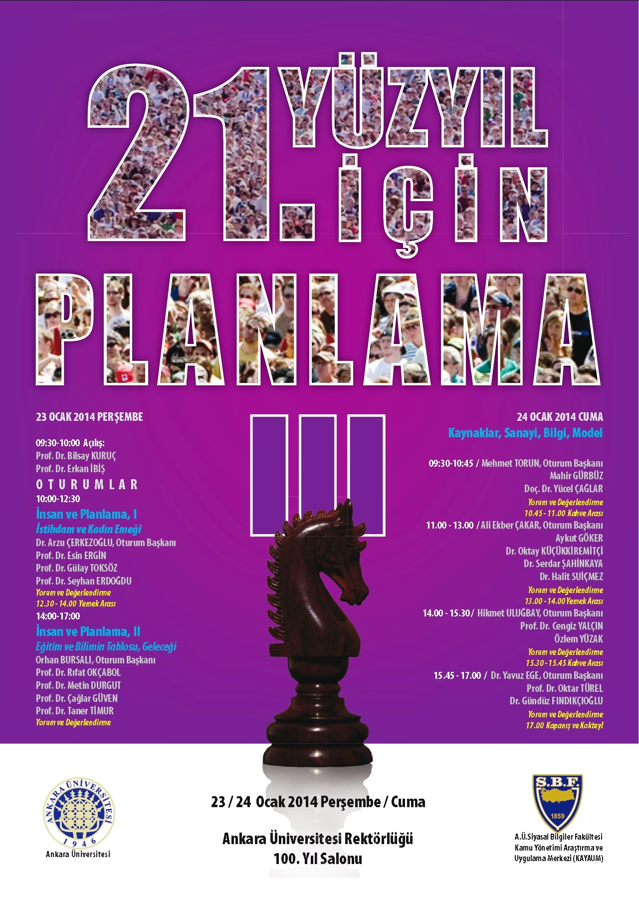 21 inci Yüzyıl İçin Planlama-III-23_24 Ocak 2014