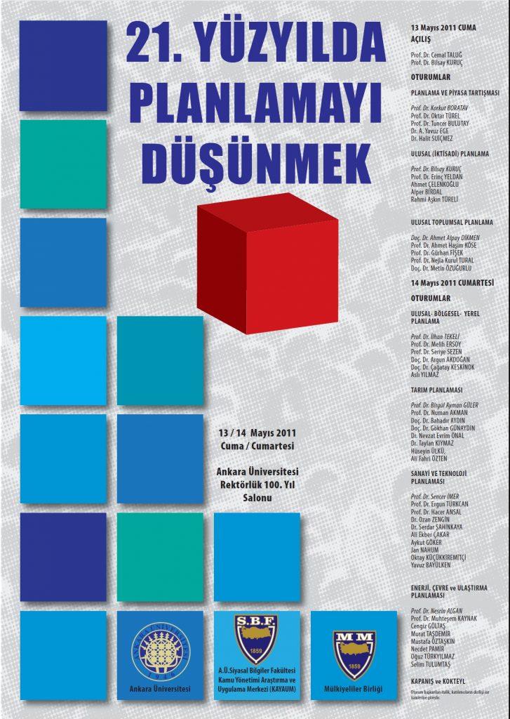 21inci Yüzyılda Planlamayı Düşünmek-13_14 Mayıs 2011