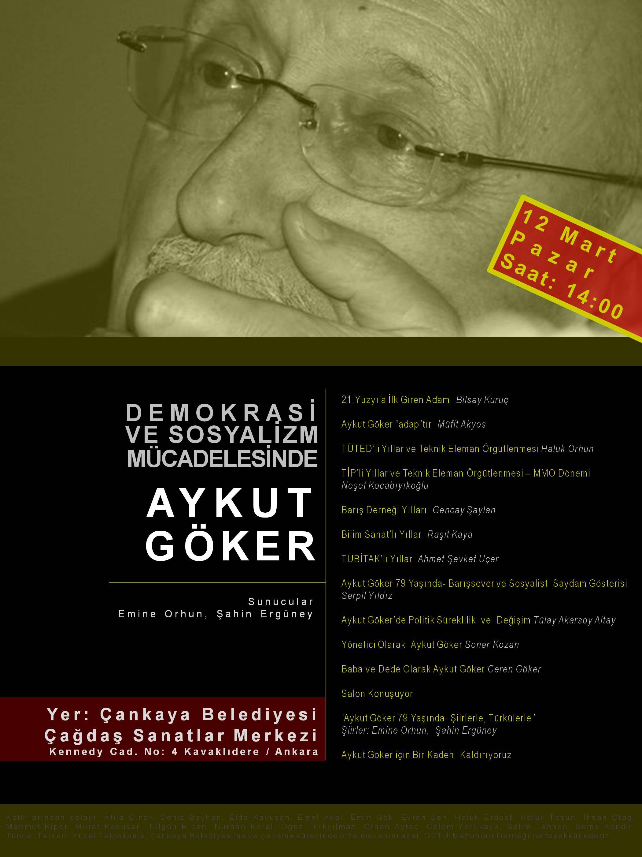 Aykut Goker Afis