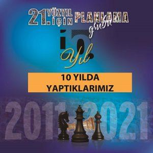 10 Yilda Yaptiklarimiz